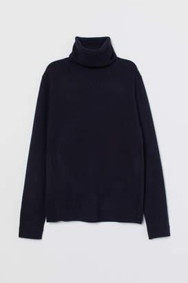 H&M Fine-knit Cashmere Sweater - Blue