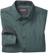 Johnston & Murphy Square Clover Print Shirt