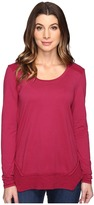 Mod-o-doc Classic Jersey Long Sleeve Tee w/ Thermal Contrast
