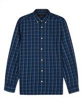 Cotton Large Check Shirt