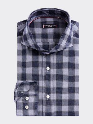 Tommy Hilfiger Gingham Slim Fit Cotton Shirt
