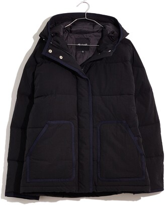 Madewell Holland Quilted Water Resistant Puffer Parka