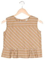 Caramel Baby & Child Girls' Checkered Sleeveless Top