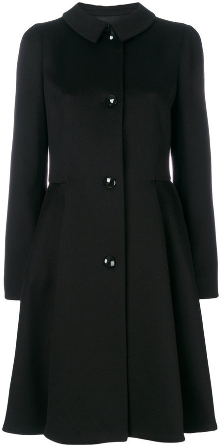 Armani Collezioni flared coat