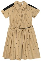 Thumbnail for your product : Burberry Children Printed stretch-cotton shirt dress