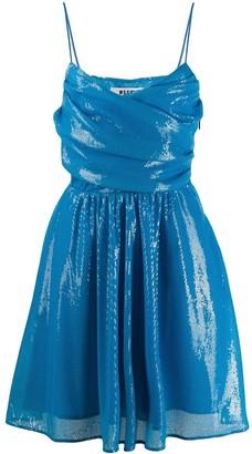 MSGM Sequin Detail Wrap Dress