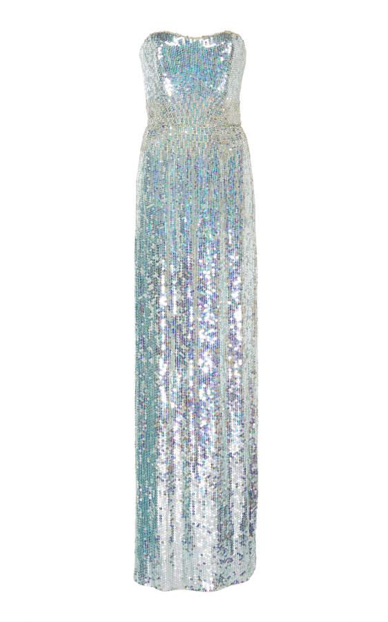 0701c00d Jenny Packham Sequin Dress - ShopStyle UK