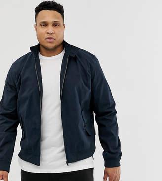 French Connection Plus harrington jacket-Navy