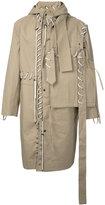 Craig Green lace-up detail coat