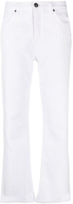 Etro Mid-Rise Wide-Leg Jeans