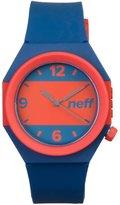 Neff Men's Stripe Watch Blue