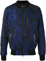 Unconditional floral jacquard bomber jacket - men - Silk/Cotton/Linen/Flax/Polyester - S