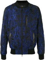 Unconditional floral jacquard bomber jacket - men - Silk/Cotton/Linen/Flax/Polyester - XS