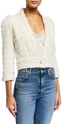 IRO Cadan Cropped 3/4-Sleeve Jacket