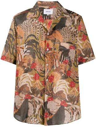 Nanushka Le Coq print shirt