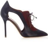 Malone Souliers Lorraine leather and suede ankle boots