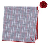 Alara Soma Pocket Square & Lapel Pin Set
