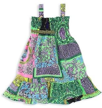 Versace Baby Girl's Patchwork Shift Dress