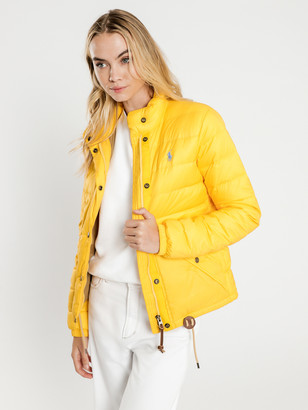 Polo Ralph Lauren Padded Shell Jacket in Athletic Gold