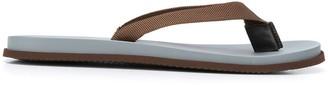 Brunello Cucinelli Grosgrain Strap Flip Flops