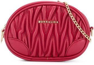MonnaLisa Oval Shoulder Bag