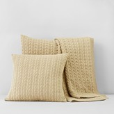 Bloomingdale's 1872 Cable-Knit Euro Sham - 100% Exclusive