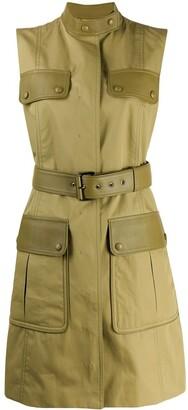 Salvatore Ferragamo Cargo Pocket Gilet Jacket