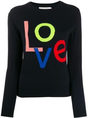 Parker Chinti & 'Love' cashmere jumper