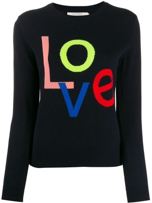 Chinti and Parker 'Love' cashmere jumper