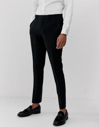 Asos Design DESIGN super skinny suit pants in black