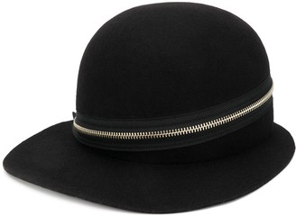 Yohji Yamamoto Zip-Detail Wide Cap