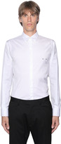 DSQUARED2 Piercing Stretch Cotton Poplin Shirt