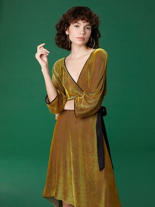 Diane von Furstenberg Velvet Eloise Dress