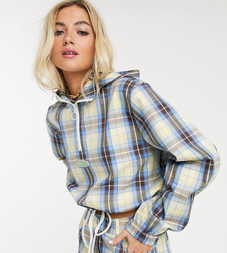 Collusion check overhead track jacket co-ord