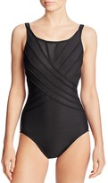Miraclesuit Spectra Bandit One Piece Swimsuit