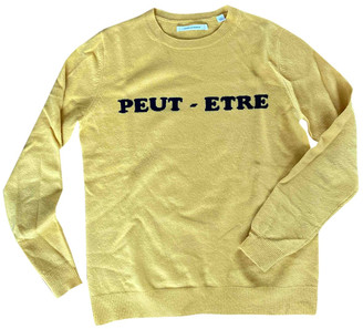 Chinti and Parker Yellow Cashmere Knitwear