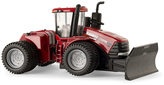 Tomy 1/64th Scale Front Blade Case Stieger Toy Tractor