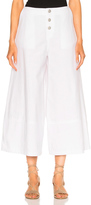 See by Chloe Wide Leg Crop Trouser