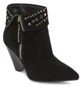 Wilson Rebel Cone Heeled Ankle Booties Women's Shoes