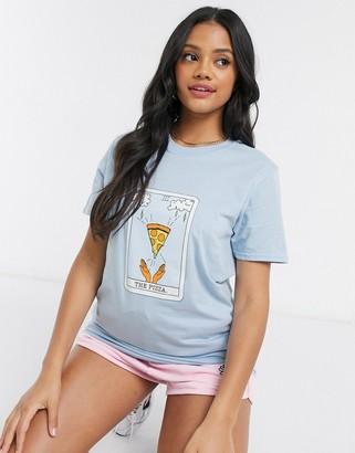 Daisy Street relaxed T-shirt with Prince print