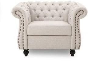 Christopher Knight Home Westminster Chesterfield Velvet Club Chair