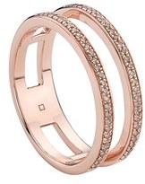 Monica Vinader Women's 'Skinny' Openwork Diamond Ring