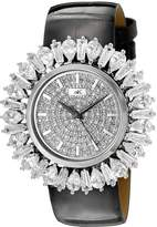 Adee Kaye Women's AK2421-L FIERCE COLLECTION Analog Display Analog Quartz Silver Watch
