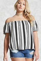 Forever 21 Plus Size Off-the-Shoulder Top