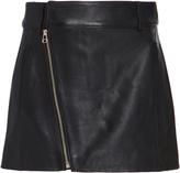 Dion Lee Leather Biker Mini Skirt