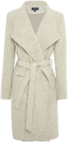 Oxford Arnella Boucle Coat Blu/Gry X