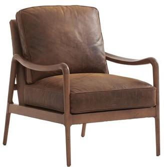 Barclay Butera Leblanc Leather Chair