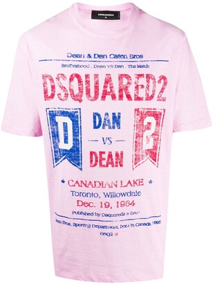 DSQUARED2 Dan vs Dean oversized T-shirt