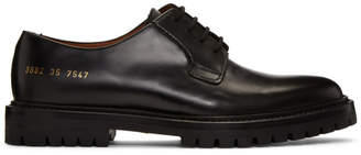 Common Projects Woman by Black Leather Derbys