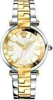 Versace Women's Reve 3H VAI05 0016 Two-Tone Stainless Steel / Blue / Yellow / Gold